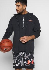 Under Armour - Zip-up hoodie - black - 3