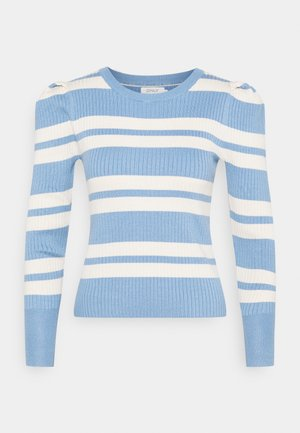 ONLEMMY PUFF - Jumper - allure/birch