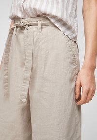QS by s.Oliver - Trousers - beige - 3