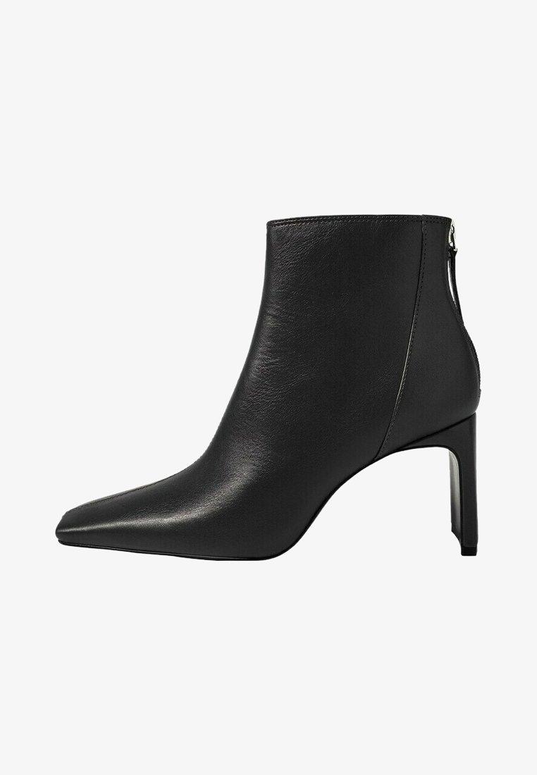 Mango - SAS - Classic ankle boots - zwart