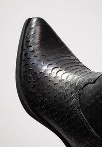 Felmini - EL PASO - Cowboy/Biker boots - naja/black - 2
