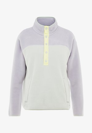 WOMEN'S HEARTH - Fleece jumper - lilac/aqua