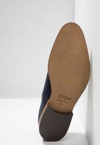 Zign - Smart lace-ups - dark blue - 4
