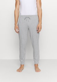 Pier One - 2 PACK - Pyjama bottoms - mottled dark grey/mottled grey - 1