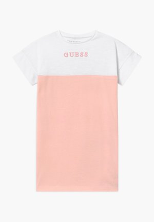 TODDLER - Žerzejové šaty - pink sky
