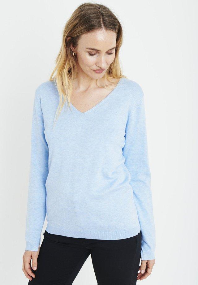 PZSARA - Jumper - mottled light blue