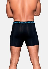 MUCHACHOMALO - 2 PACK - Pants - black/blue - 3