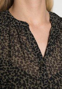 Esprit Collection - DRESSES LIGHT WOVEN - Shirt dress - khaki green - 4
