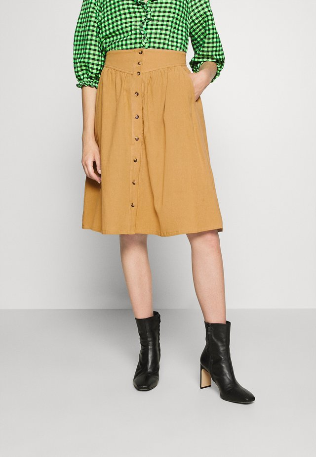 SREMILY SKIRT - A-lijn rok - chipmunk