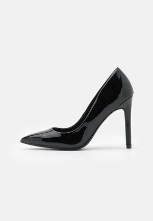 LEATHER - Klassiska pumps - black