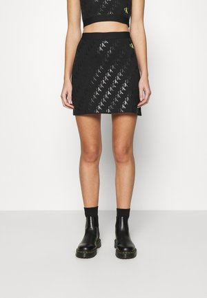 MILANO SKIRT - Mini skirt - black