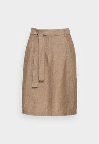 Opus - RAILA - A-line skirt - maple - 3