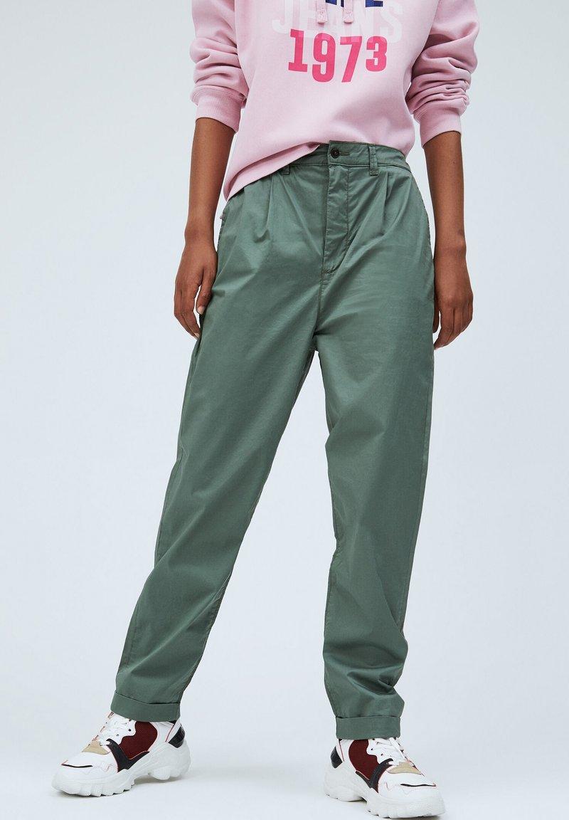 Pepe Jeans - BREEZE - Chinos - verde caqui