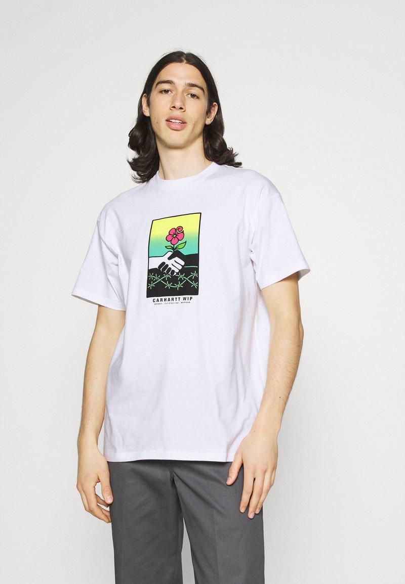 Carhartt WIP - TOGETHER - Print T-shirt - white