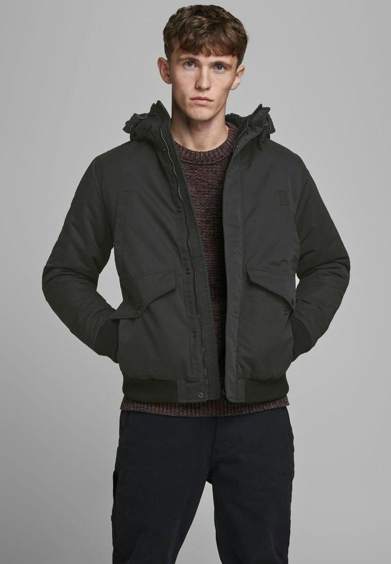 Jack & Jones PREMIUM - Winter jacket - black