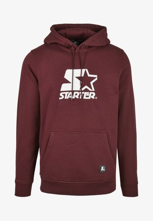 CLASSIC  - Sweat à capuche - oxblood