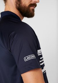 Lacoste Sport - TENNIS POLO DJOKOVIC - Polo shirt - navy blue/white - 5