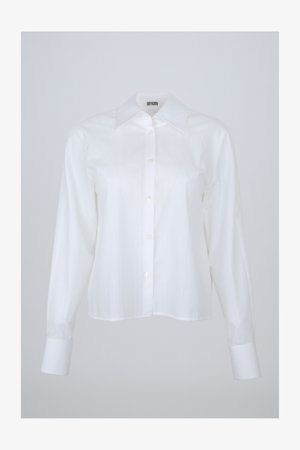 CHARLAD - Button-down blouse - white
