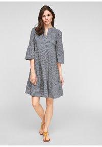 s.Oliver - Day dress - blue - 1
