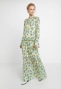 Custommade - VICKEY - Maxi dress - pastel yellow - 0