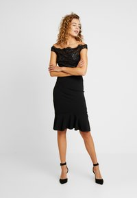 Sista Glam - BEATTIE - Cocktail dress / Party dress - black - 1