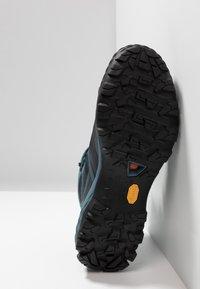 Mammut - DUCAN MID GTX - Hiking shoes - black/light poseidon - 4