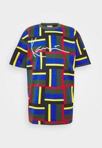 Karl Kani - SIGNATURE BLOCK TEE - Print T-shirt - green - 4