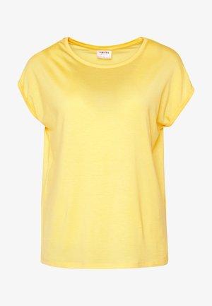 VMAVA PLAIN - T-shirt basique - banana cream