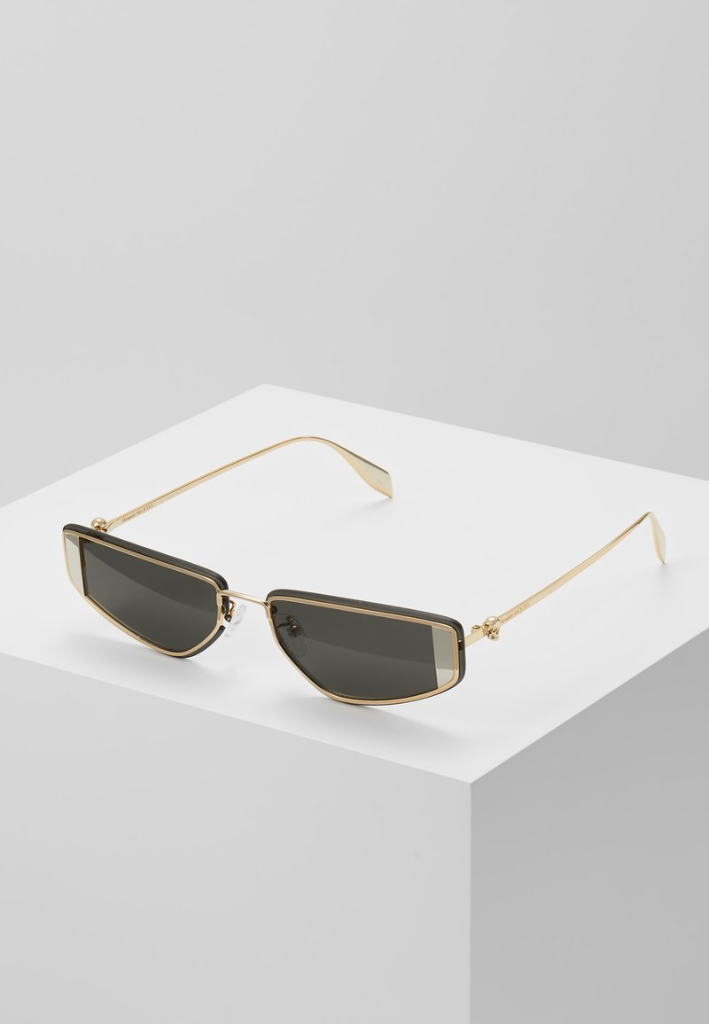 Alexander McQueen - Sunglasses - gold-coloured/grey