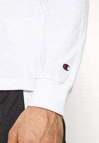 Champion - CREWNECK LONG SLEEVE  - Långärmad tröja - white - 4