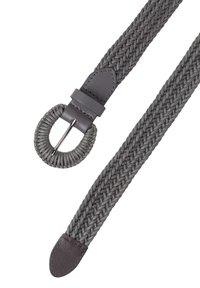 zero - Braided belt - slate - 1