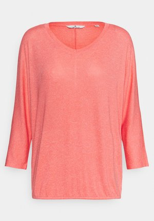 BATWING - Pullover - strong peach melange