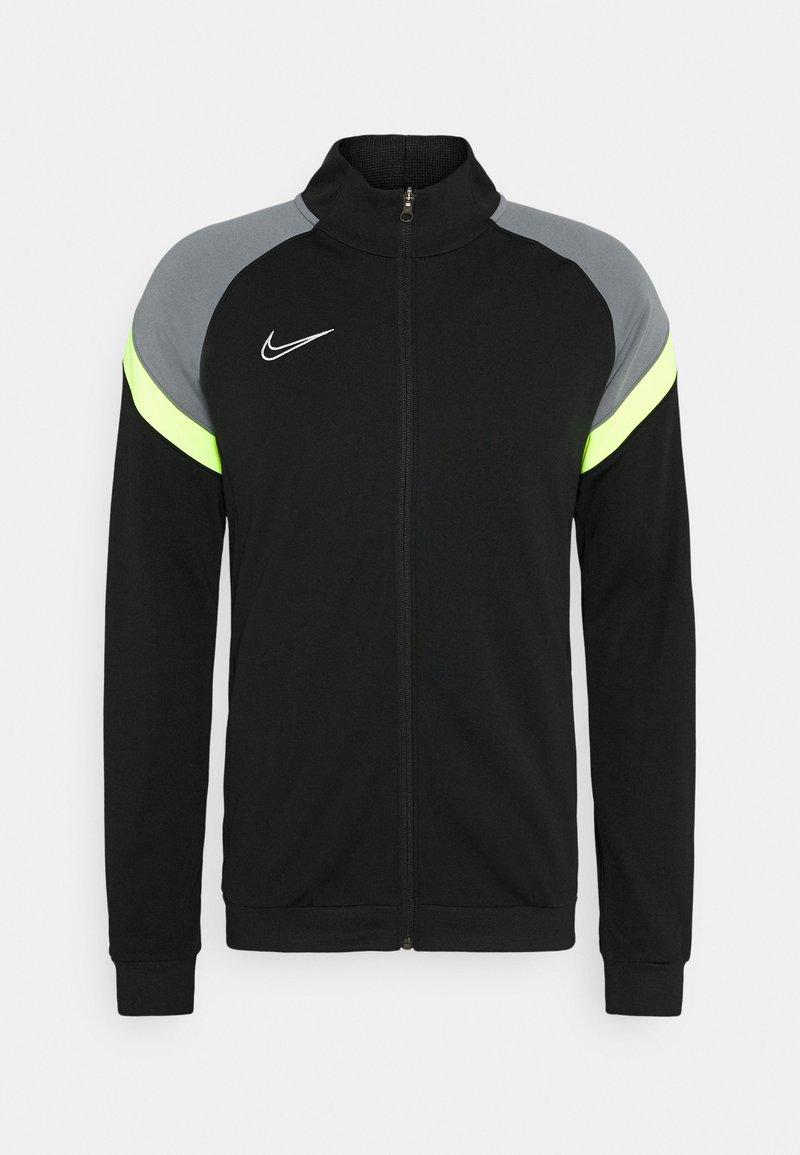 Nike Performance - DRY ACADEMY - Training jacket - black/volt/light smoke grey