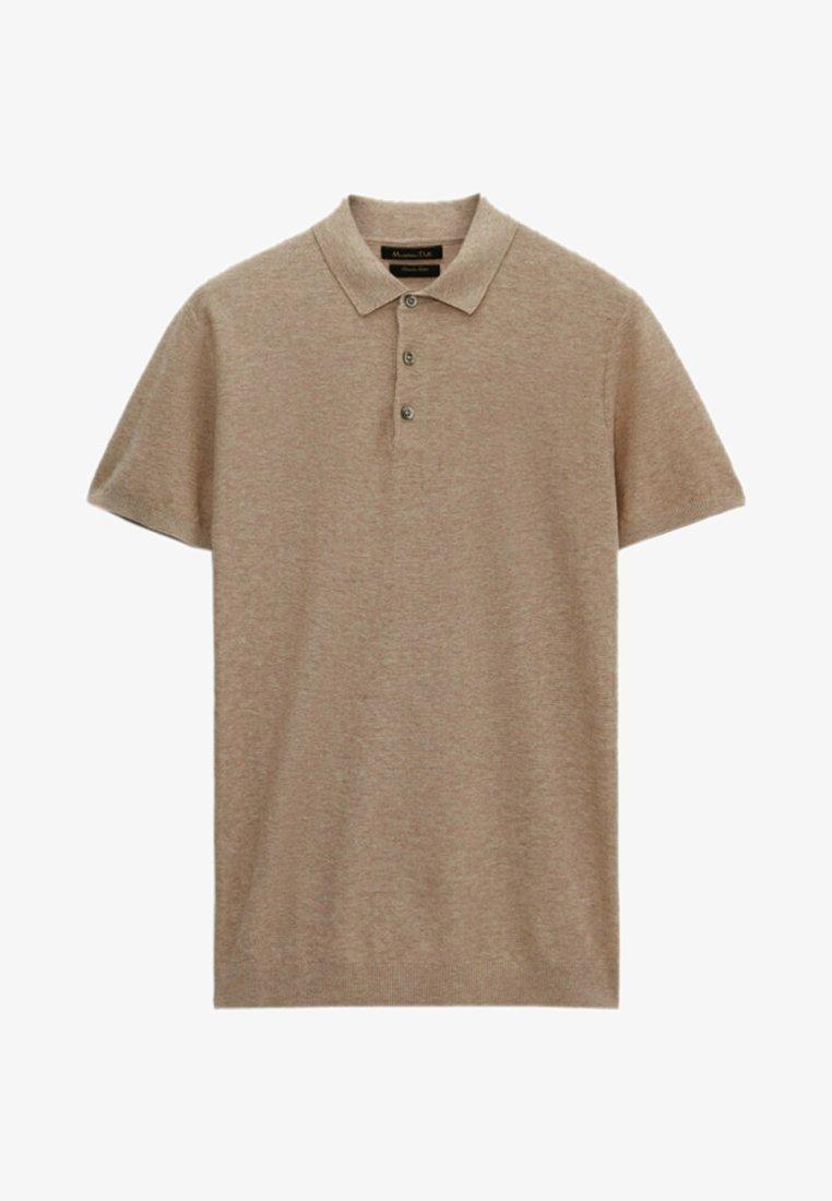 Massimo Dutti - Polo shirt - beige