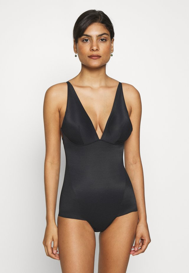 EASY GLIDE ON AND OFF LOW BACK COOL COMFORT - Maillot de bain - black