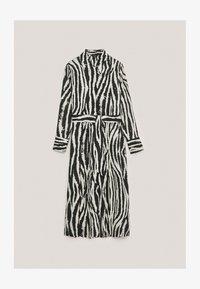 Massimo Dutti - Shirt dress - brown - 3
