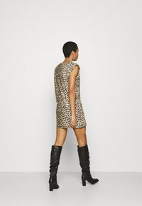 AllSaints - CONI DROPOUT DRESS - Jersey dress - brown - 2