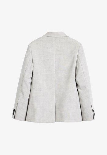 NAVY SKINNY FIT SUIT JACKET (12MTHS-16YRS) - Blazer jacket - grey