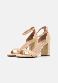 Dune London - MADAM - High heeled sandals - natural - 2