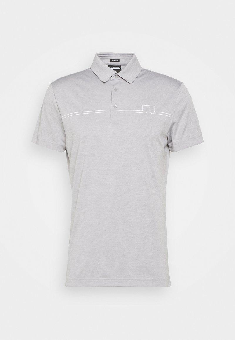 J.LINDEBERG - T-shirt sportiva - micro chip melange