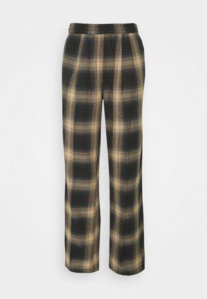 AVA PANT - Pantalon classique - brown/multi