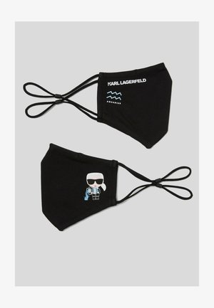 2 PACK - Textilné rúško - black/multi