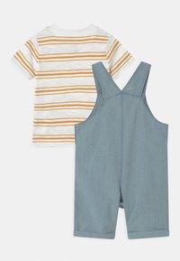 Carter's - SHORTALL SET - Print T-shirt - blue - 1