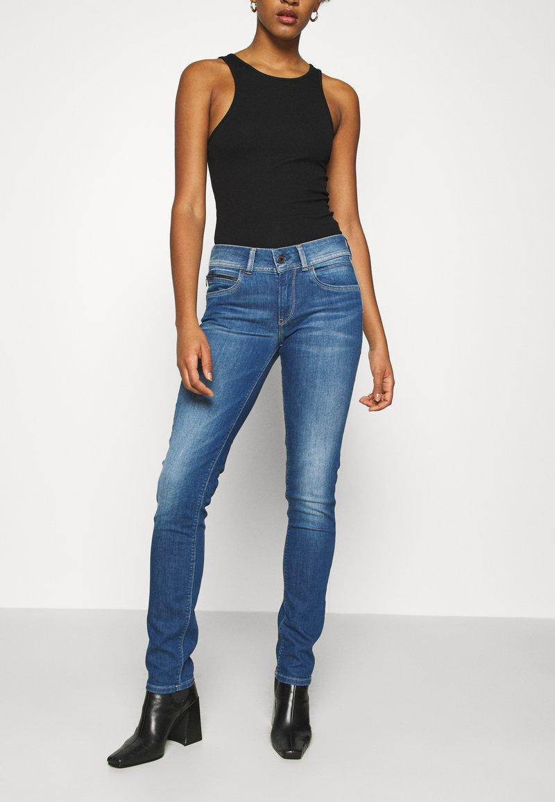 Pepe Jeans - ANNA - Jeans Skinny Fit - stone blue denim