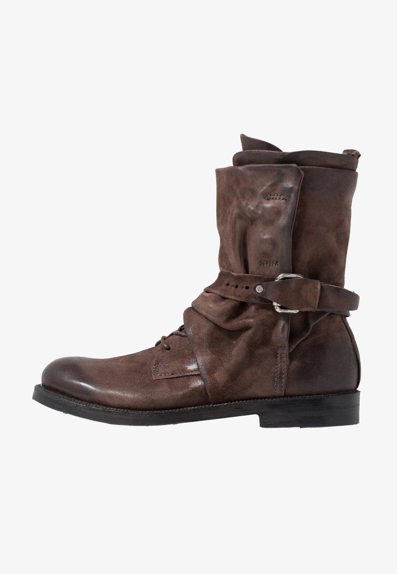 A.S.98 - SAMURAI - Lace-up boots - fondente