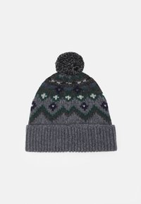 Belstaff - FAIRISLE HAT UNISEX - Čepice - grey/navy/green - 1