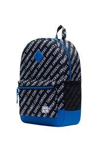 Herschel - School bag - roll call black/white/lapis blue - 2