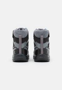 Salomon - XA PRO V8 WINTER CSWP UNISEX - Winter boots - black/phantom/quiet shade - 2