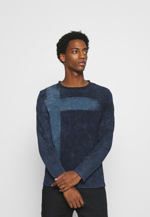 BOB ROUND - Long sleeved top - navy