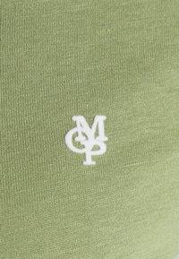 Marc O'Polo - SHORT SLEEVE ROUND NECK - Jednoduché triko - dried sage - 2